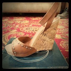 Paprika Summer Wedge Sandal